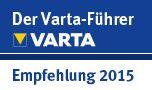 Der Varta-Führer - Empfehlung 2015
